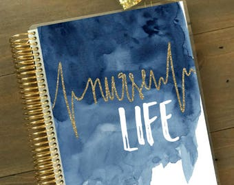Original Stylish Planner Cover Set - Nurse Life: For use with Erin Condren Life Planner(TM), Happy Planner and Recollections Planner