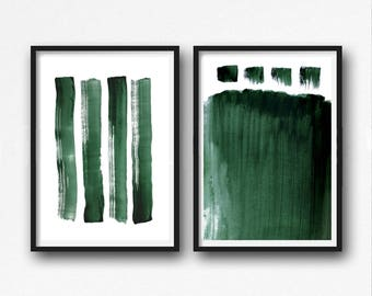 Scandinavian abstract, Printable Art, Art Poster, modern abstract, Industrial Decor,  green white , large print, Abstrac Set, watercolour