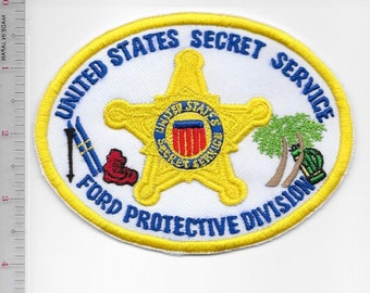 US Secret Service  USSS President Gerald Ford Protective Division POTUS Agent Service Patch
