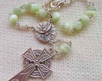 Car Rosary Celtic Cross