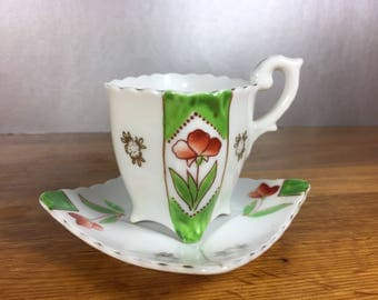 Ohasi China Cup and Saucer