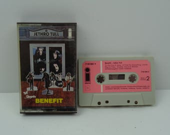 Jethro Tull Benefit Cassette Tape