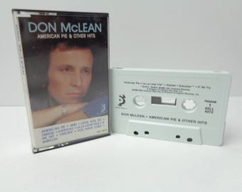 Don Mclean American Pie and Other Hits Cassette