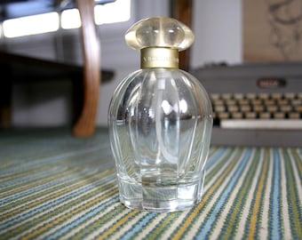 Vintage Oscar De La Renta Flower-Top Perfume Bottle