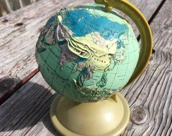Vintage globe Etsy