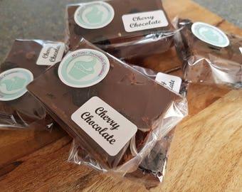Home made Cherry Chocolate Fudge