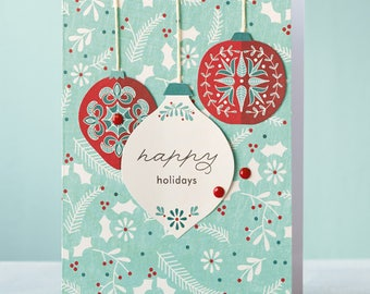 Close to my Heart Deck the Halls Card Kit  #Z3149