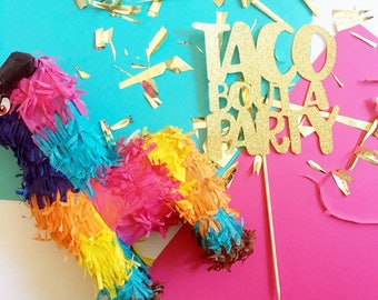 Taco Bout a Party Cake Topper // Cinco De Mayo Cake Topper