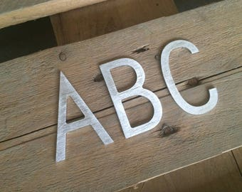 Bronze Letters For Sale Classy Metal Letters  Etsy Design Ideas