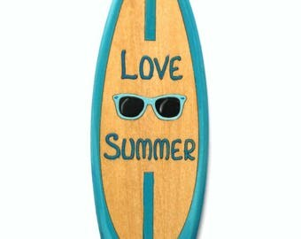 Decorative surfboard Beach Hut