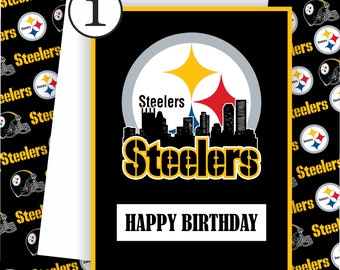 Pittsburgh Steelers Card - Steelers Fan, Football Team Card,Football Greeting Card