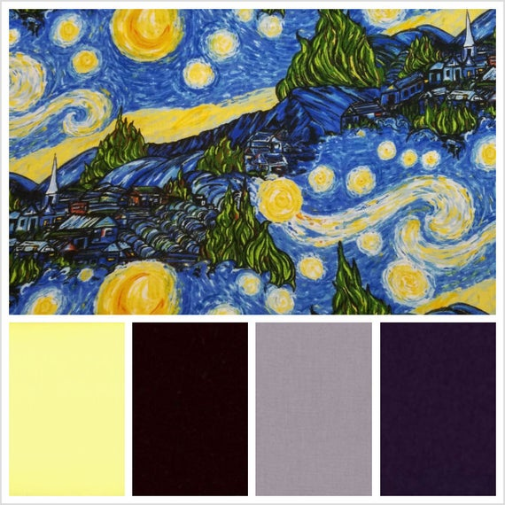 Starry Night Weighted Blanket, Cotton, Up to Twin Size, 3 to 20 Pounds, 3 to 20 lb, Adult Weighted Blanket, SPD, Autism, Calming Blanket