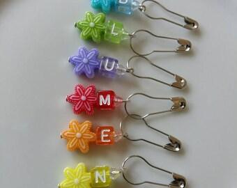"""6 marker """"Flowers"""""""