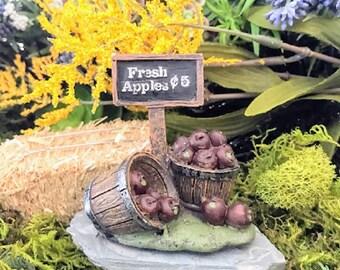 Miniature Bushel Baskets of Apples for Sale