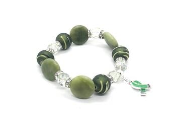Liver Cancer Bracelets - Liver Cancer Jewelry - Liver Cancer - Liver Cancer Awareness - Liver Cancer Gifts - Liver Cancer Survivor