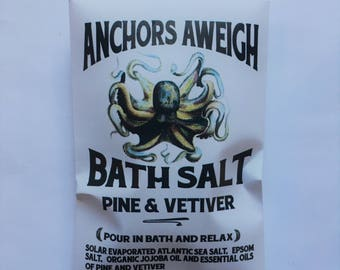 Bath Salt Anchors Aweigh Pine + Vetiver