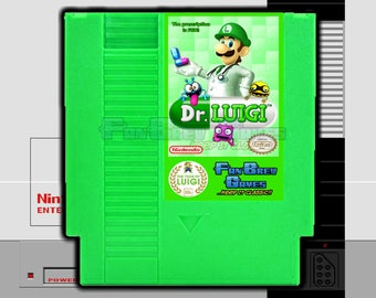 "IN STOCK! ""Dr. Luigi"" Dr. Mario Hack Unreleased Nintendo NES Puzzle Game!"