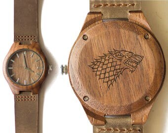 Game of Thrones. Jon Snow. Ned Stark. Winter is coming. King of the north. Dire wolves. Stark.  Targaryens. Lannisters. Wood Watch. Leather