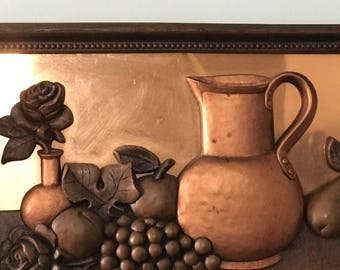 Copper Craft Guild Vintage Wall Art