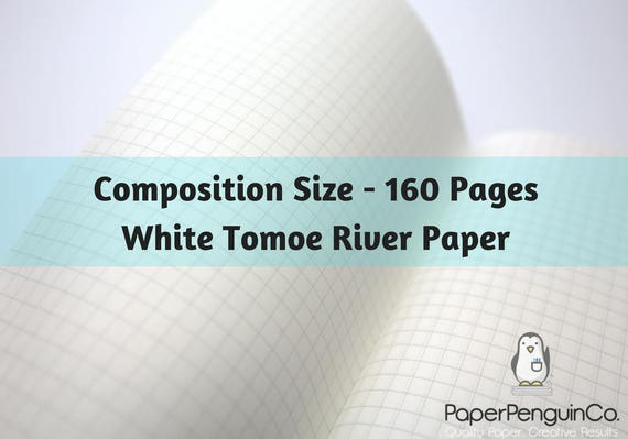 Midori Insert 160 Pages White Tomoe River Paper Travelers Notebook Black Brown Composition Size Only