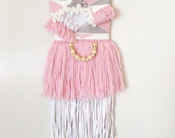 Medium Pretty in pink weave
