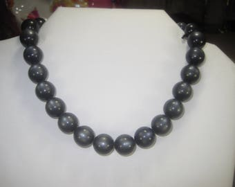S-14 Vintage Necklace choker beaded