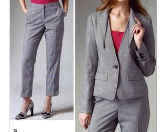 Vogue sewing pattern 1388 Anne Klein designer misses' sizes 8-16 jacket pants UNCUT OOP