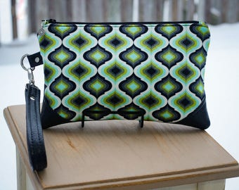Moroccan Tile Clutch