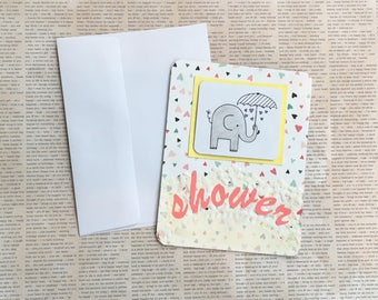 Baby Card - Baby Shower Greeting Cards, Baby Boy Cards, Baby Girl Cards, Expecting Baby Cards, Welcome Baby Cards, Handmade Greeting Cards