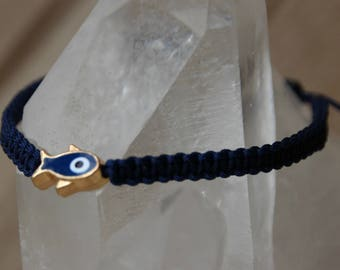 shamballa bracelet with fish bead