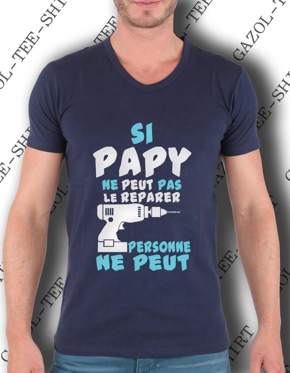 Top Idée cadeau fête des papys Si papy ne peut pas le réparer personne  UQ98