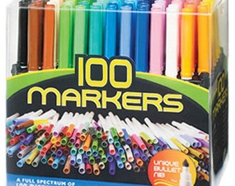 Fibra Color Markers 100 Count