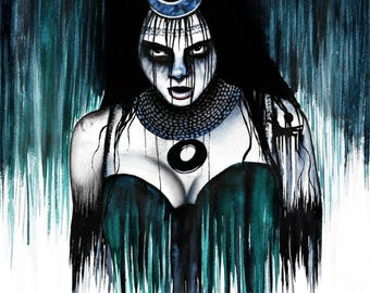 Suicide Squad Enchantress Signed Fine Art Print