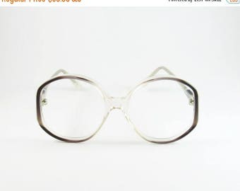 Round Eyeglasses, Vintage Eyeglasses, Ortor Italiana 805, Round Sunglasses, Gift for Sister, Oversized Glasses, 70s, Oversized Sunglasses,