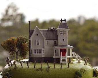 Beetlejuice, The Maitland's House Miniature Diorama