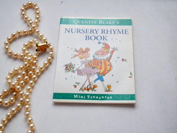 Three Books, Nursery Rhyme Book, The Monster Bed, Little Bear's Trousers, vintage 16 page pocket children's books, British authors, birthday