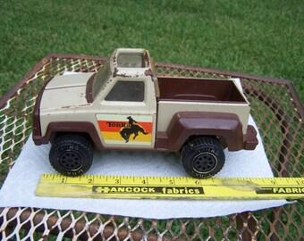 Vintage Tonka Truck 1979 Cowboy Rodeo