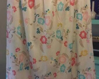 25%OFF Vera Floral Skirt Below the knee Poly Thin sz L
