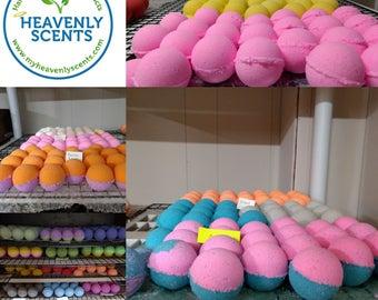Wholesale Lot of 100 Bath Bombs - Premium Fizzy Bath Bomb - Choose Your Scents