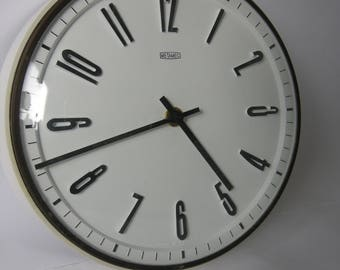 Metamec Wall Clock Working Order.