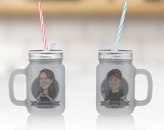Bachelorette Party Gift Idea Mason Jar