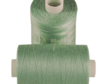 Spool of thread sewing 100% polyester each containing 1000 yards (approx. 914 m) / 199 Foggy jade