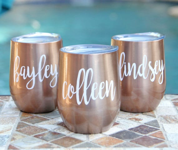 Personalized Wine Tumblers
