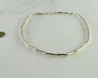 """Sterling Silver Choker Length (16"""") Necklace"""