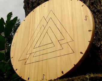 Viking shields, house shields, rune shields, Norse shields, Valknut, talisman shields, Celtic shields, Viking symbols, Celtic symbols, Runes