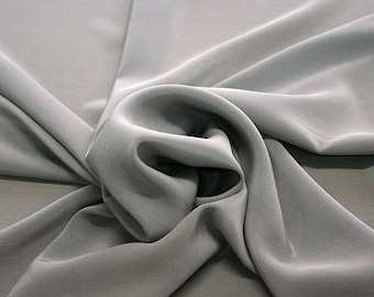 301186-Chinese natural silk crepe 100%, width 135/140 cm, made in Italy, dry cleaning, weight 88 gr