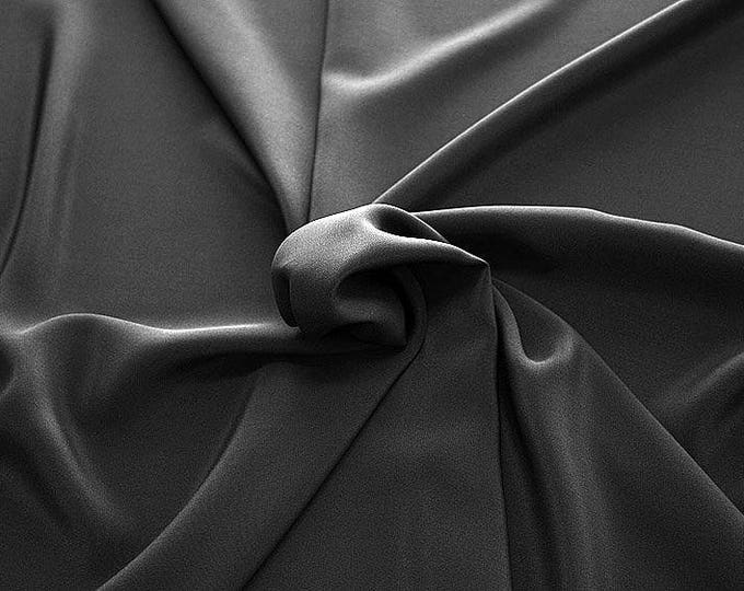 301201-Chinese natural silk crepe 100%, width 135/140 cm, made in Italy, dry cleaning, weight 88 gr