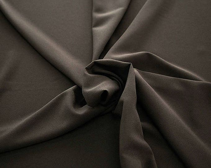 905088-Crepe 100% Polyester, width 150 cm, made in Italy, dry washing, weight 306 gr