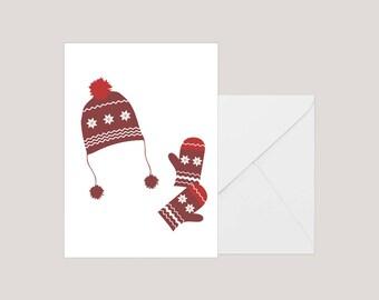 Printable Christmas Card | Greeting Card | Holiday Card | | Xmas Card | A2 Card | Minimilist Christmas Card | Seasons Greetings Card