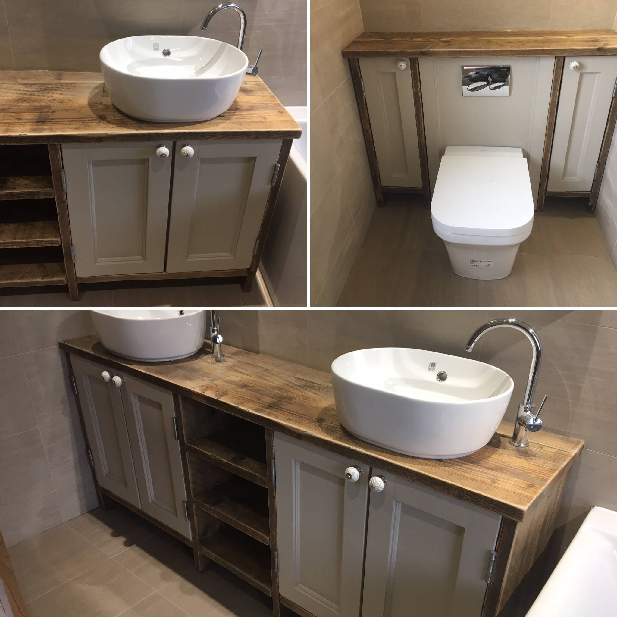 Bathroom Sinks Edinburgh edinburgh -reclaimed wood washstand handmade & bespoke